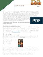 guild newsletter nov 2013