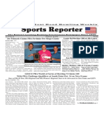 October 22 - 28, 2014 Sports Reporter