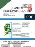 BLOQUEANTES NEUROMUSCULARES.pptx