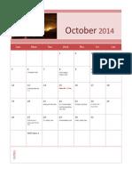 october 2014h