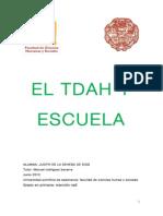 2 (TDAH Y ESCUELA) Judith de la Dehesa de Dios_Tdah y Escuela.pdf