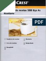 Máquina de Pão Silvercrest (LIDL) - Livro de Receitas PT
