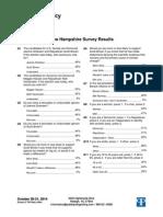 NH Sen Poll 10.22.14