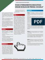 Programa curso blogs en rede Novas estratexias e ferramentas educativas para a dinamización dun blog de Prensa_Escuela.pdf
