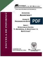 Unidad III - Estructuras de Control - Parte I - Estructura Secuencial.pdf