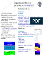 Managing hydrological measurements for small and intermediate projects