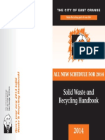 East Orange Recycling 2013