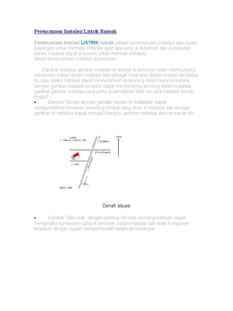 Perencanaan instalasi listrik rumah 1532898609v1 ccuart Choice Image