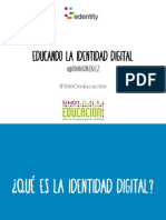 Educando la identidad digital