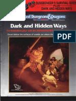 TSR 2019S - Dungeoneers Survival Guide - Dark and Hidden Ways Set