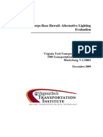 "Virgina Tech Transportation Institute's ""Street Lighting Report"""
