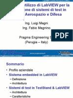 Esempi Di Utilizzo Di LabVIEW Per La Realizzazione Di Sistemi Di Test in Ambito Aerospazio e Difesa