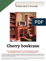 Cherry Bookcase - FH04DJ