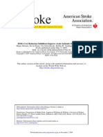 HMG-CoA Reductase Inhibitors Improve Acute Ischemic Stroke Outcome