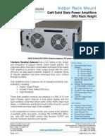 Paradise Datacom Indoor GaN 5RU SSPA Datasheet