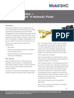 Hydrualics Flushing Procedure