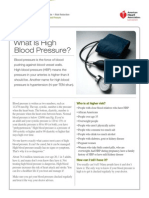aha blood pressure monitoring