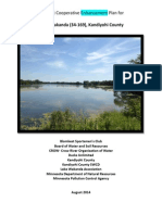 Draft enhancement plan for Lake Wakanda