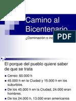 CAMINO AL BICENTENARIO HOY.ppt