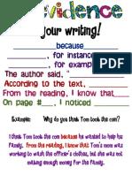 evidenceinwritingposter 2