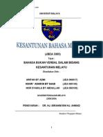 Bahasa Bukan Verbal Dalam Bidang Kesantunan Melayu
