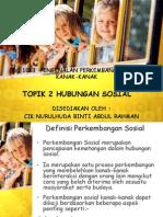 Topik 2 Hubungan Sosial