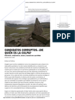 [Arana 2014] Columna_ Candidatos Corruptos_ ¿de Quién Es La Culpa