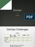 Docker presentation