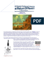 Return of Panet X--By William Henry