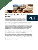 Clasificación de hoteles.doc