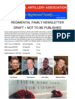 December 2009 Newsletter Draft