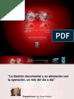 La Gestion documental y su alineacion con la operacion - Keyla Soteldo.pdf
