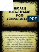 brain breakers for probability