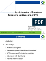 03 CGL Optimization of Transformer Tanks