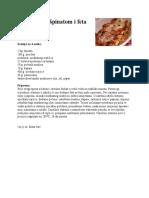 Canelloni sa špinatom i feta sirom