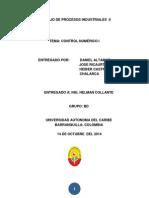 TRABAJO DE PROCESOS INDUSTRIALES  II CONTROL NUMERICO I.docx