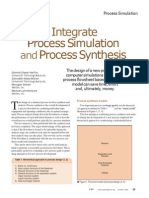 Integrate Process Simulation and Process Synthesis (1).docx