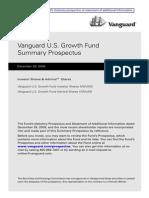 Vanguard Fund Prospectus