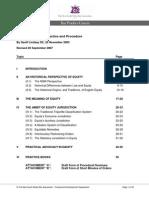Equity - Principles, Practice and Procedure - Lindsay SC
