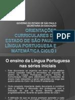 ORIENTAÇÕES CURRICULARES DO ESTADO DE SÃO PAULO LÍNGUA.pptx