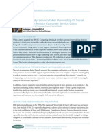 Case Study - Lenovo Takes Ownership Of Social Media To Reduce Customer Service Costs.pdf