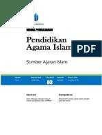 MODUL 3 - Sumber Ajaran Islam
