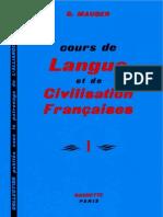 Cours de Langue et Civilisation Françaises I