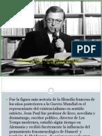 Jean Paul Sartre Filosofía.pptx