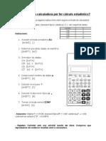 estadistica amb calculadora