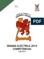 Reglamento Semana Electrica 2014