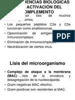 CONSECUENCIAS BIOLÓGICAS DE LA ACTIVACIÓN DEL COMPLEMENTO.ppt