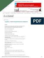 Trabalhista - PRAZOS NO ...pdf