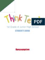 1st Grade of Junior High School (STUDENT's BOOK)