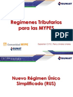Regimenes Tributarios MYPES.ppt